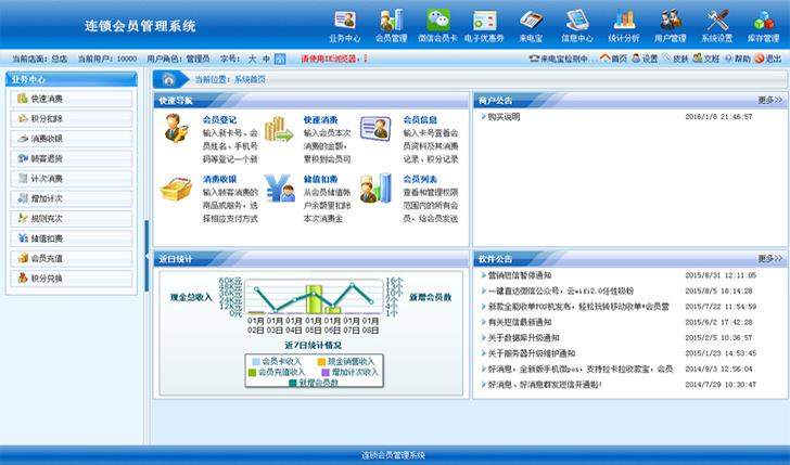 会员积分管理软件